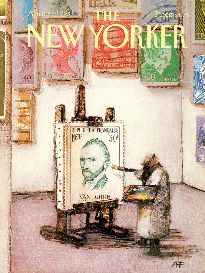 New Yorker April 25th, 1988 Painting by Andre Francois