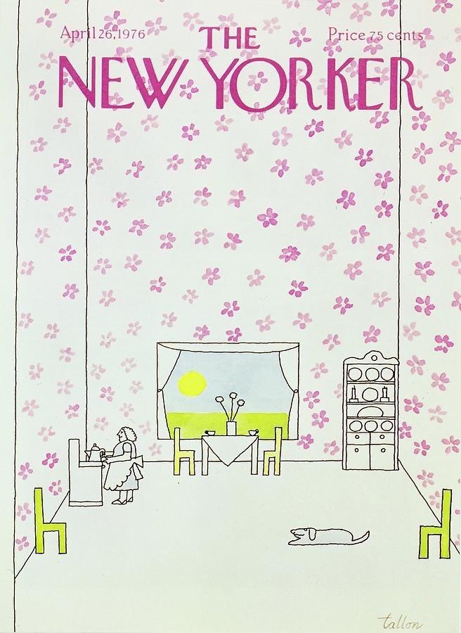 New Yorker April 26th 1976 Painting by Robert Tallon