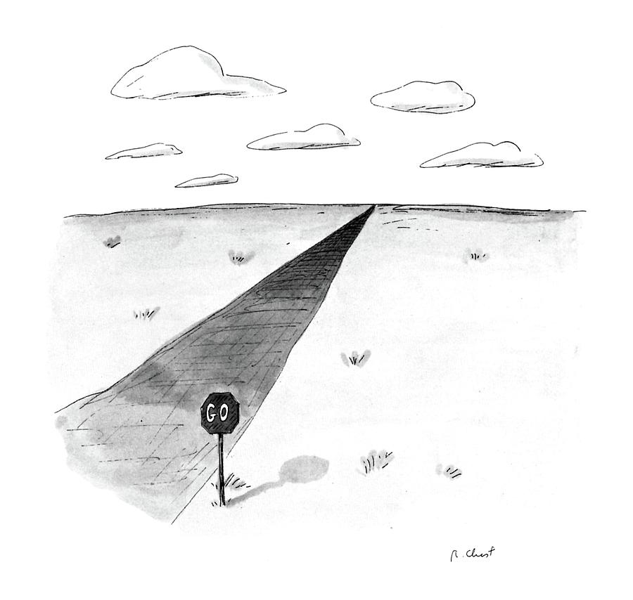 New Yorker April 27th, 1987 Drawing by Roz Chast