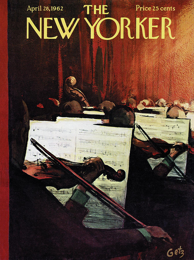 New Yorker April 28th, 1962 Painting by Arthur Getz