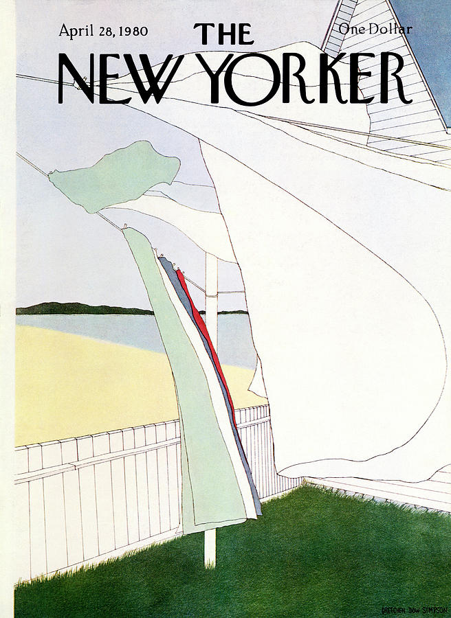 New Yorker April 28th, 1980 Painting by Gretchen Dow Simpson