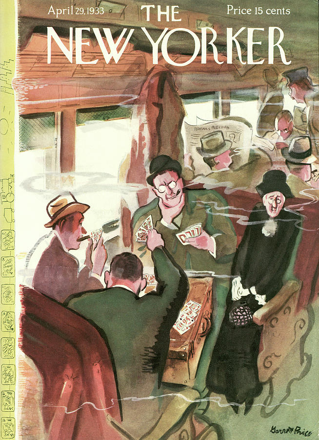 New Yorker April 29th, 1933 Painting by Garrett Price