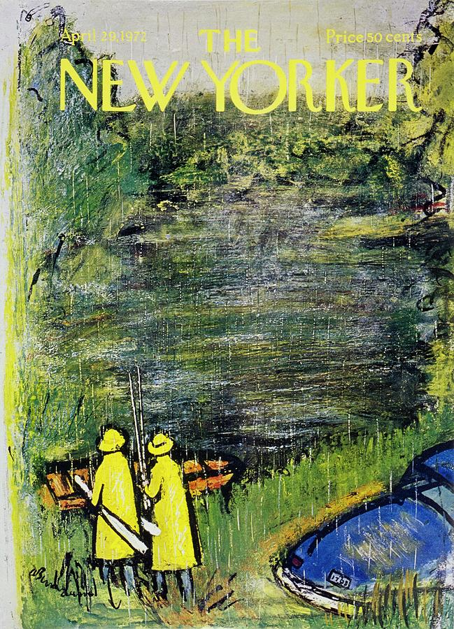 New Yorker April 29th 1972 Painting by Abe Birnbaum