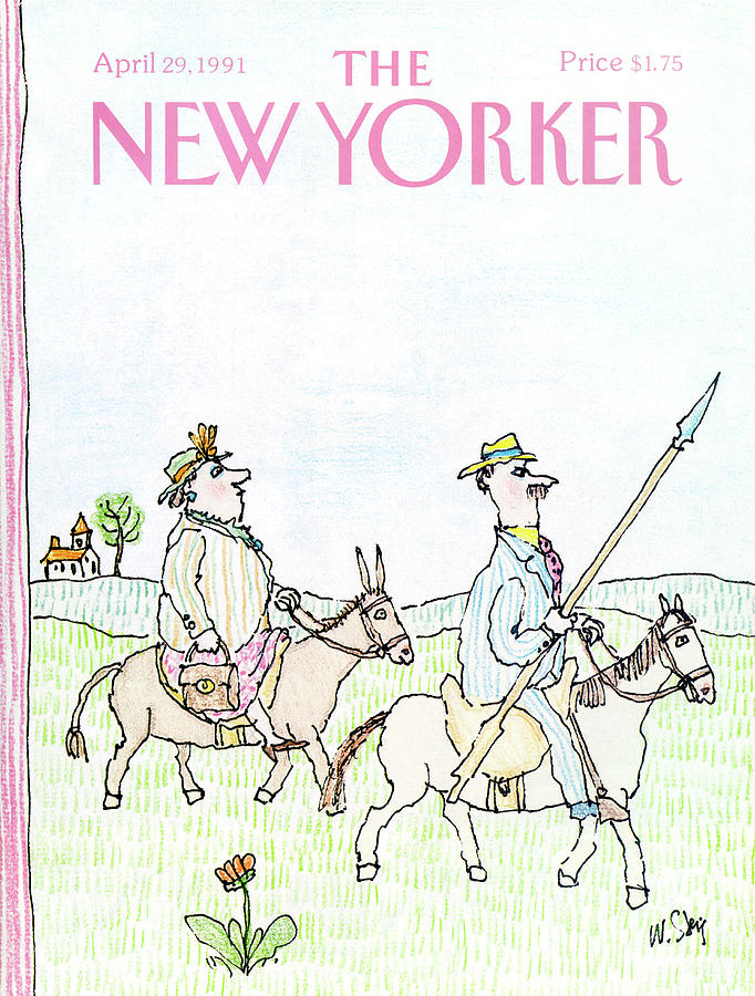 New Yorker April 29th, 1991 Painting by William Steig