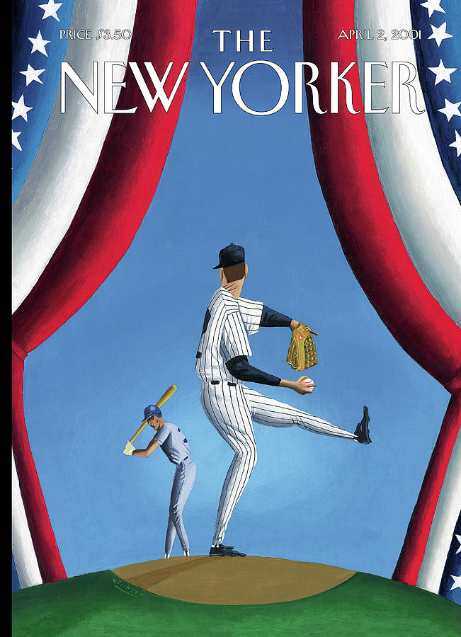 New Yorker April 2nd, 2001 Painting by Mark Ulriksen