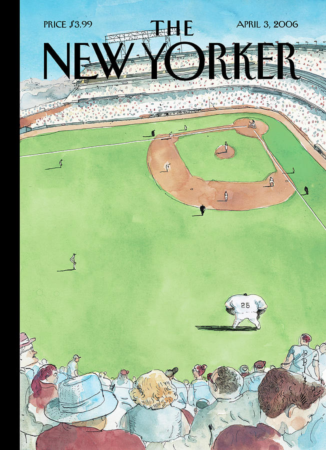 Bigger Than The Game Painting by Barry Blitt