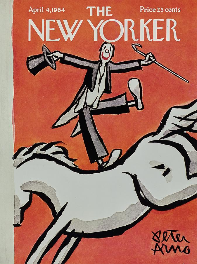 New Yorker April 4th 1964 Painting by Peter Arno