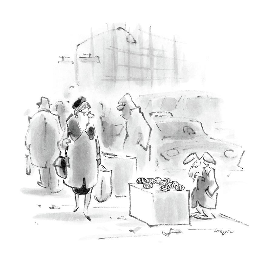 New Yorker April 4th, 1988 Drawing by Lee Lorenz