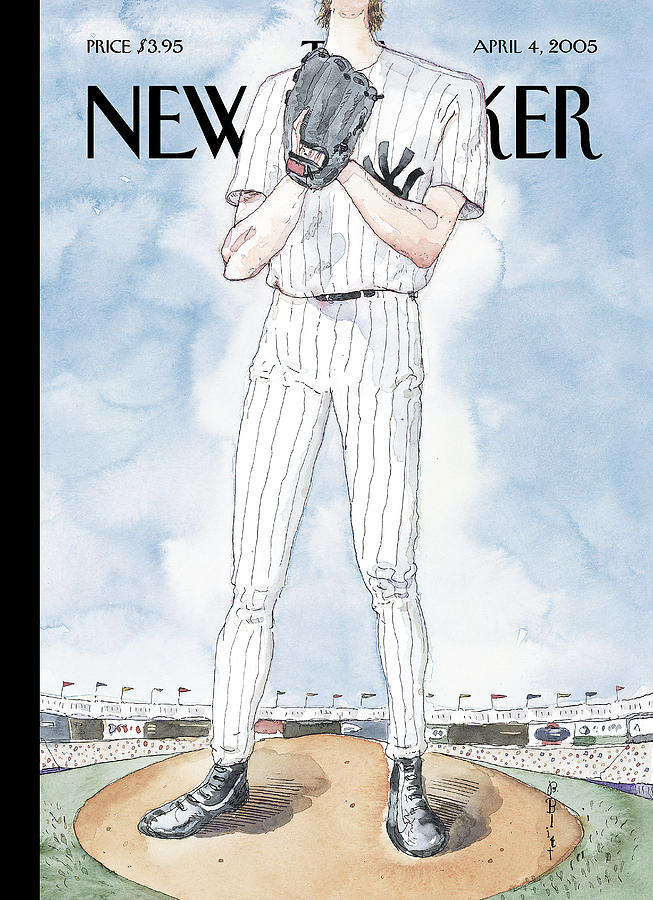 New Yorker April 4th, 2005 Painting by Barry Blitt
