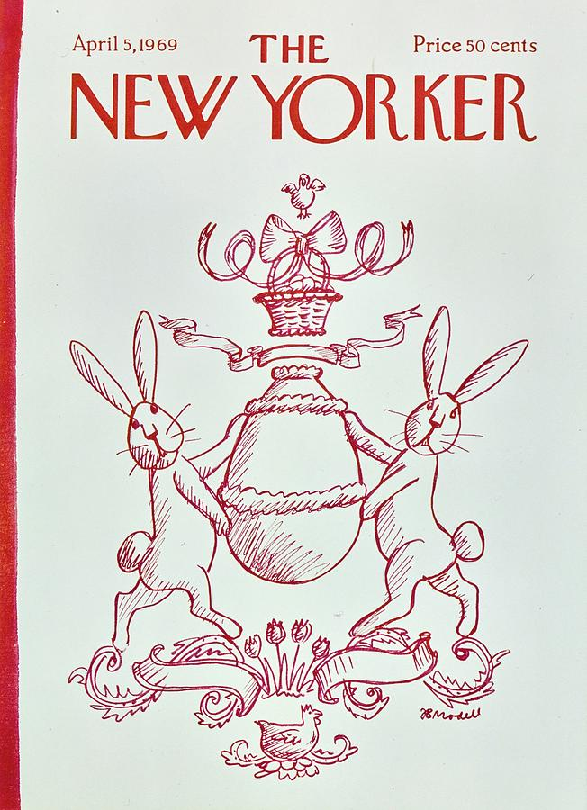 New Yorker April 5th 1969 Painting by Frank Modell