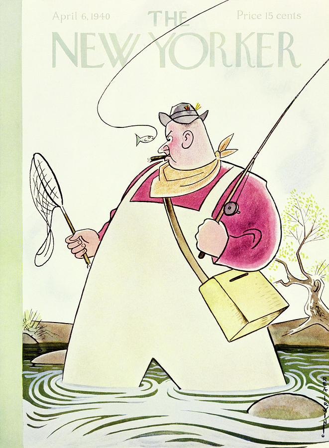 New Yorker April 6 1940 Painting by Rea Irvin