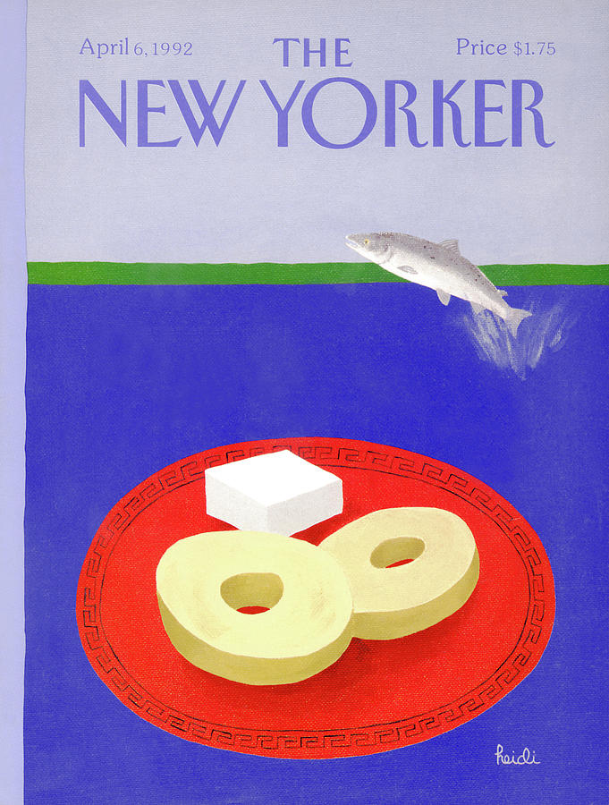 New Yorker April 6th, 1992 Painting by Heidi Goennel
