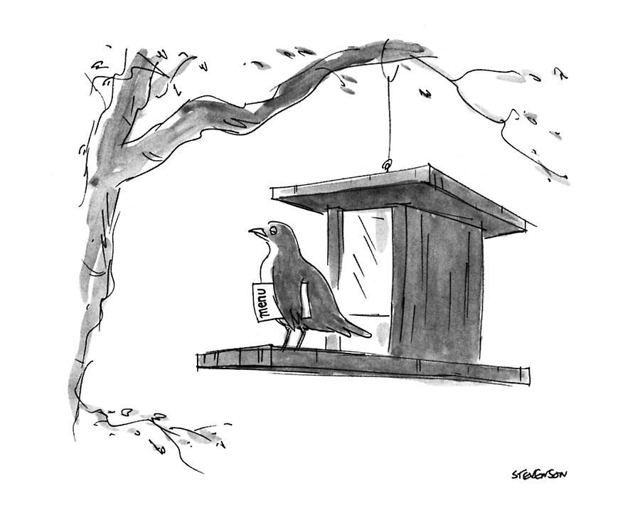 New Yorker April 6th, 1992 Drawing by James Stevenson
