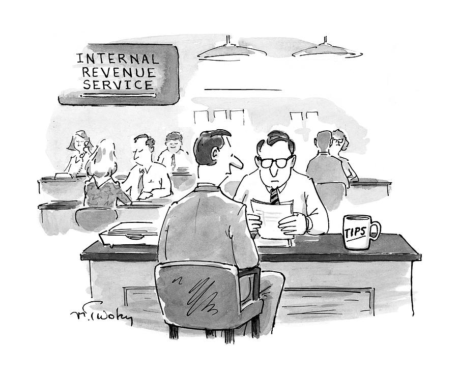 New Yorker April 7th, 1997 Drawing by Mike Twohy