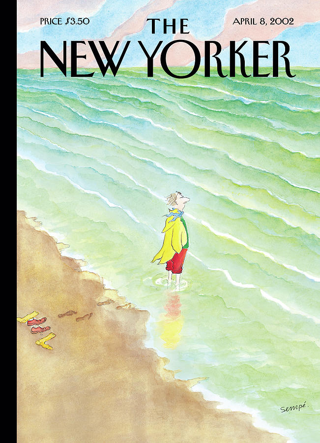 New Yorker April 8th, 2002 Painting by Jean-Jacques Sempe