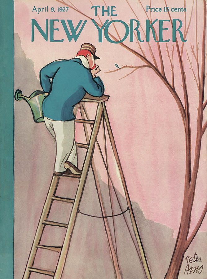 New Yorker April 9th, 1927 Painting by Peter Arno