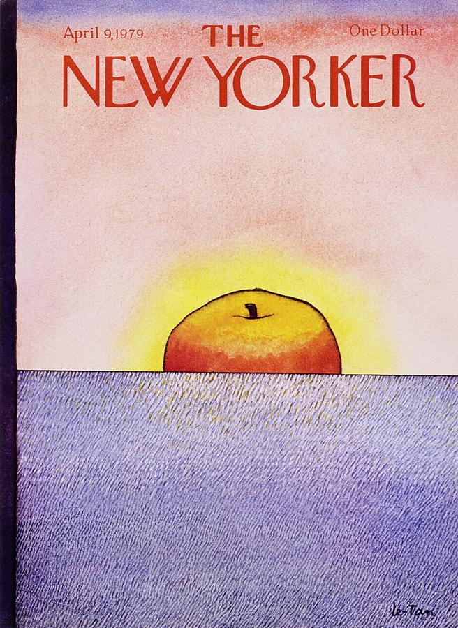 New Yorker April 9th 1979 Painting by Pierre Le-Tan