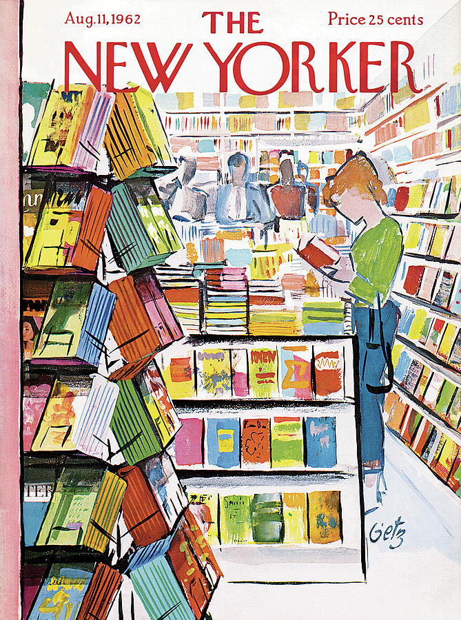 New Yorker August 11th, 1962 Painting by Arthur Getz