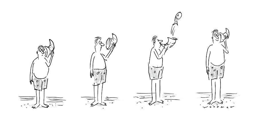 New Yorker August 11th, 1986 Drawing by Bill Woodman
