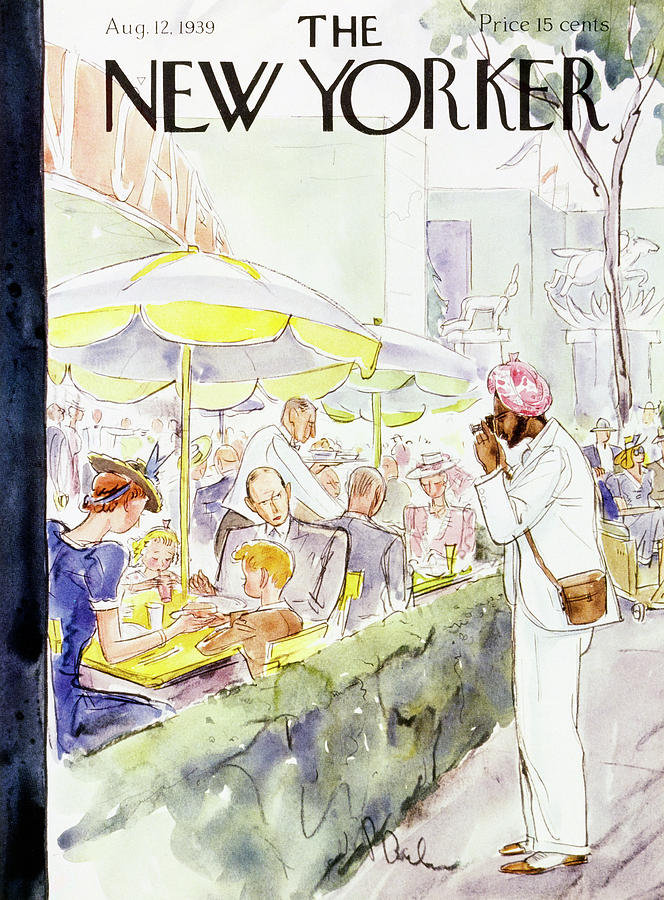 New Yorker August 12 1939 Painting by Perry Barlow