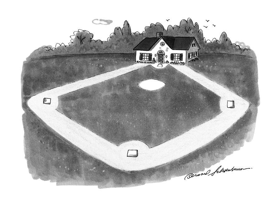 New Yorker August 12th, 1991 Drawing by Bernard Schoenbaum