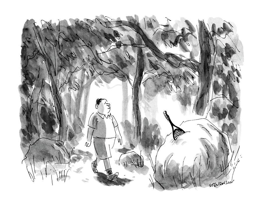 New Yorker August 12th, 1991 Drawing by James Stevenson