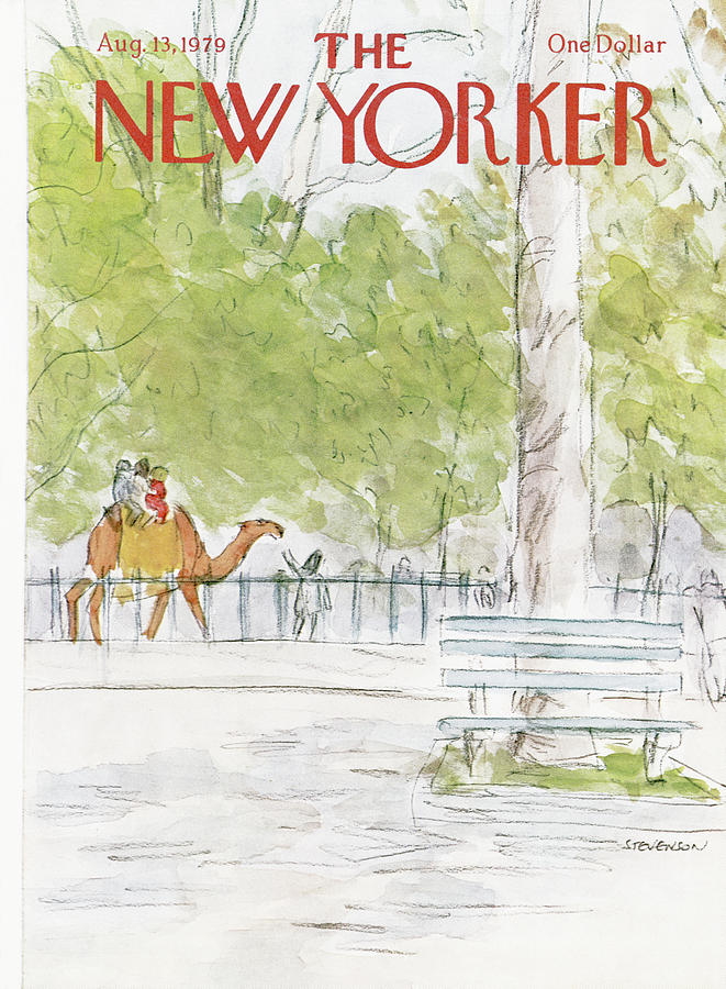 New Yorker August 13th, 1979 Painting by James Stevenson