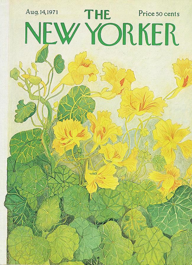 New Yorker August 14th, 1971 Painting by Ilonka Karasz