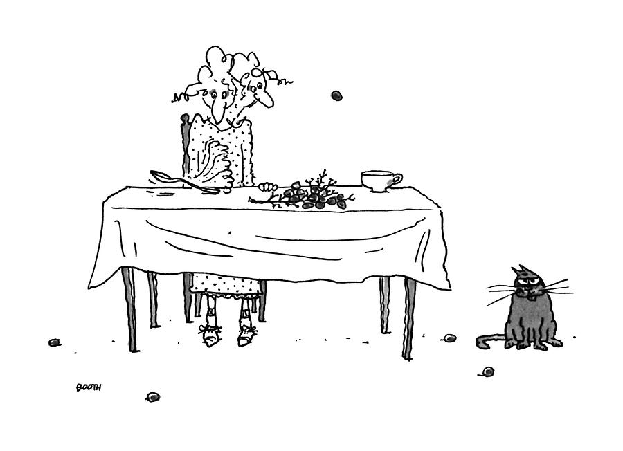 New Yorker August 14th, 1995 Drawing by George Booth