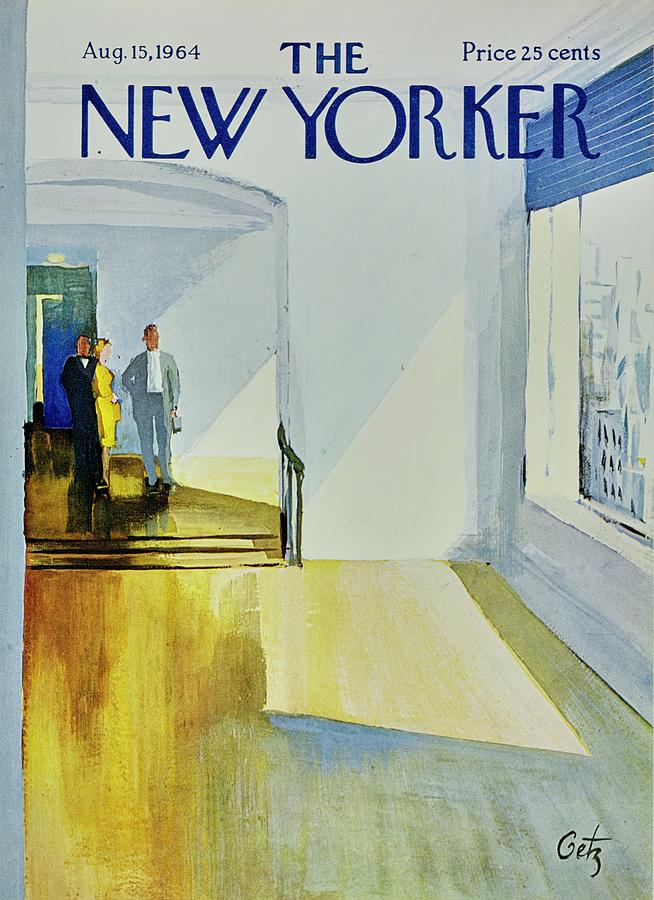 New Yorker August 15th 1964 Painting by Arthur Getz