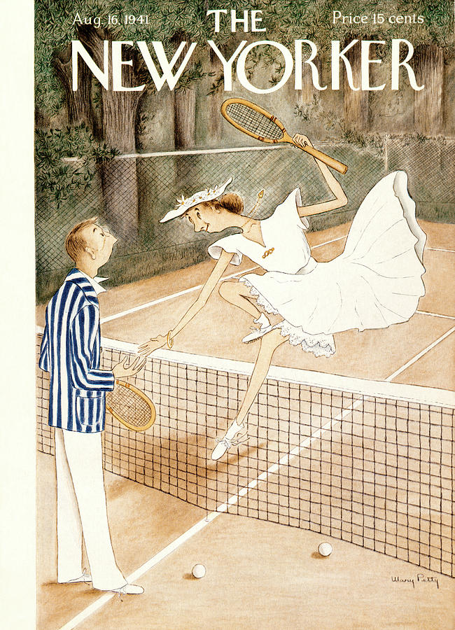 New Yorker August 16, 1941 Painting by Mary Petty