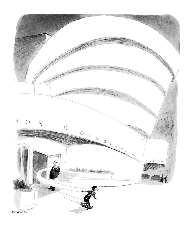New Yorker August 16th, 1976 Drawing by James Stevenson