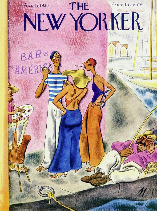 New Yorker August 17 1935 Painting by Julian De Miskey