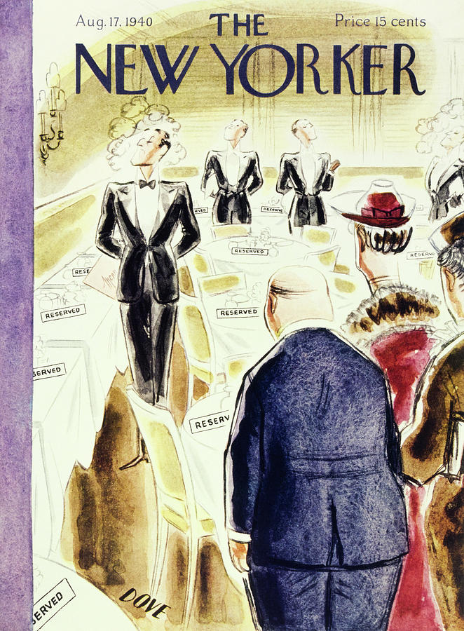 New Yorker August 17 1940 Painting by Leonard Dove