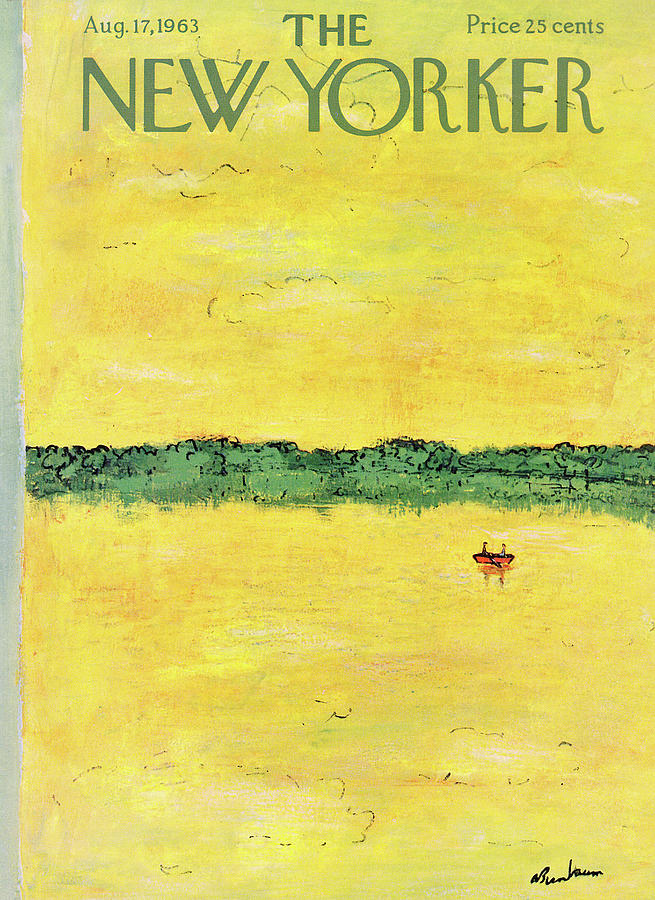 New Yorker August 17th, 1963 Painting by Abe Birnbaum