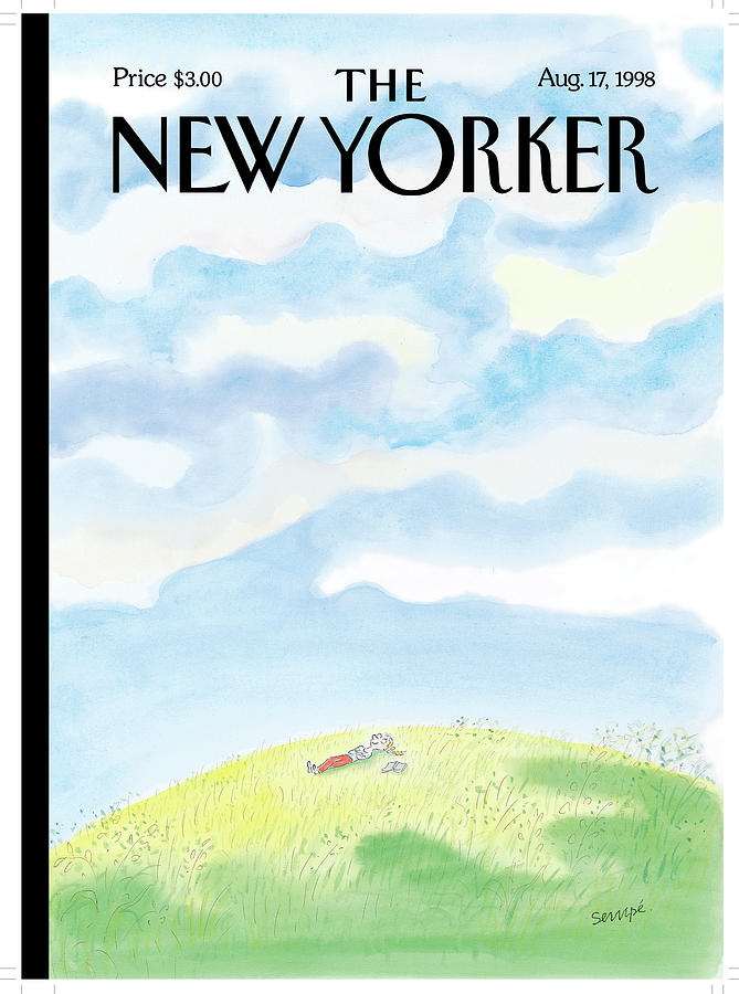 New Yorker August 17th, 1998 Painting by Jean-Jacques Sempe