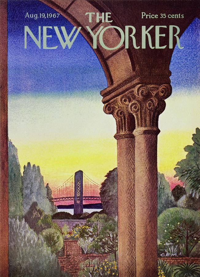 New Yorker August 19th 1967 Painting by Charles E Martin