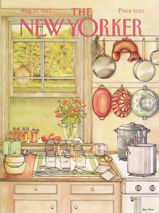 New Yorker August 19th, 1985 Painting by Jenni Oliver