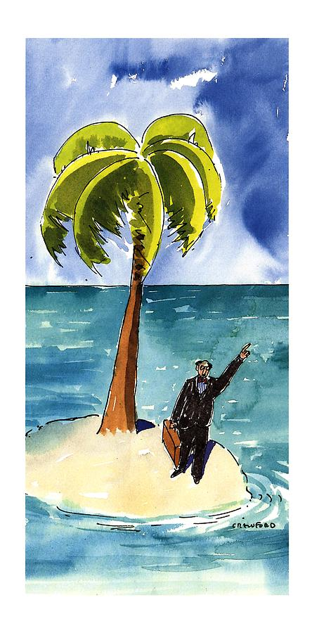 New Yorker August 19th, 1996 Drawing by Michael Crawford