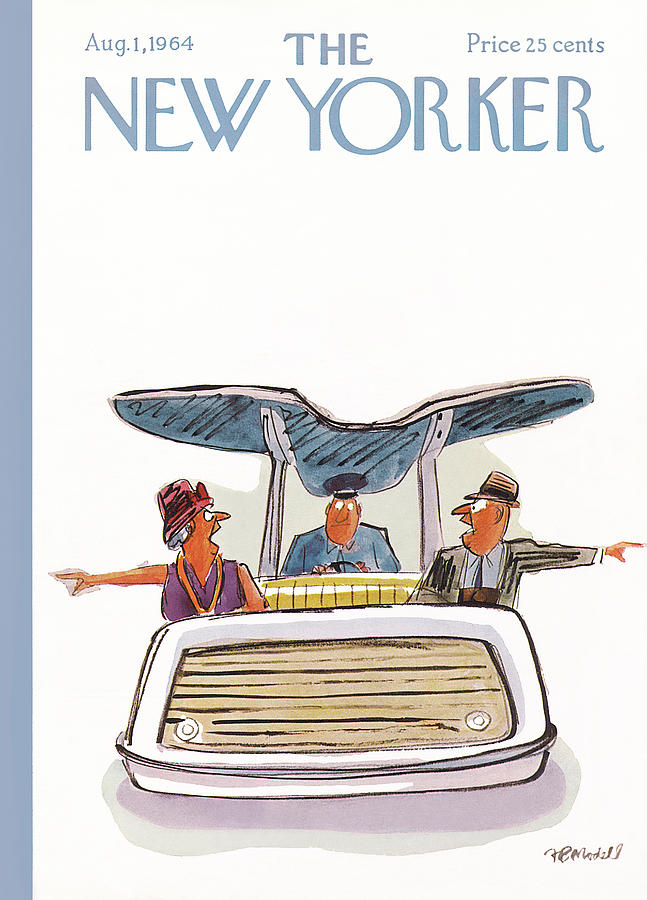 New Yorker August 1st, 1964 Painting by Frank Modell