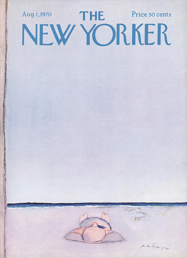 New Yorker August 1st, 1970 Painting by Andre Francois