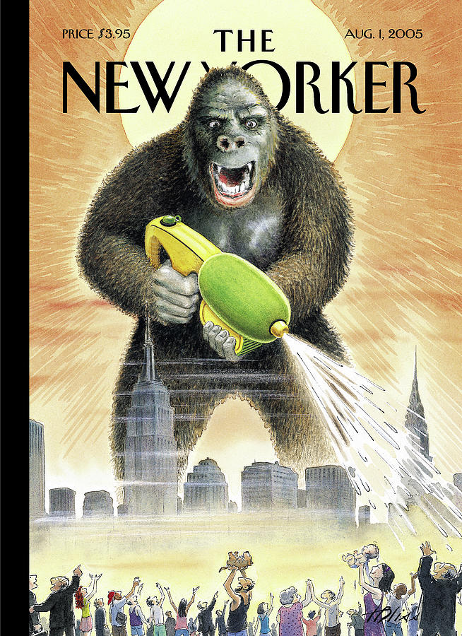 New Yorker August 1st, 2005 Painting by Harry Bliss
