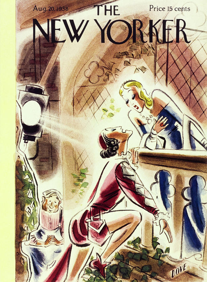 New Yorker August 20 1938 Painting by Leonard Dove