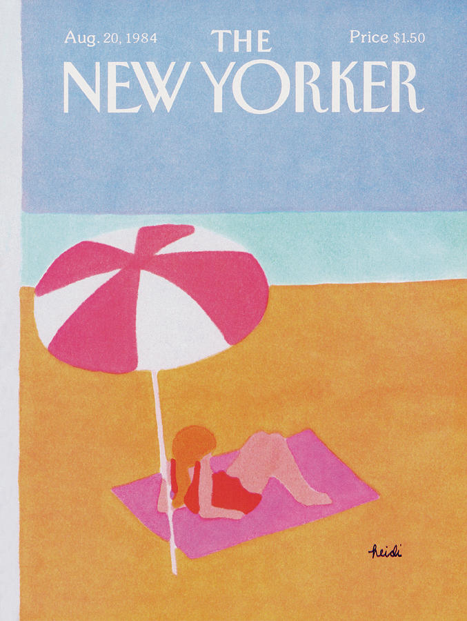 New Yorker August 20th, 1984 Painting by Heidi Goennel