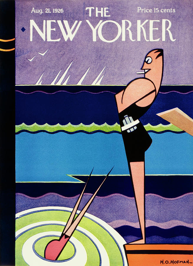 New Yorker August 21 1926 Painting by H O Hofman