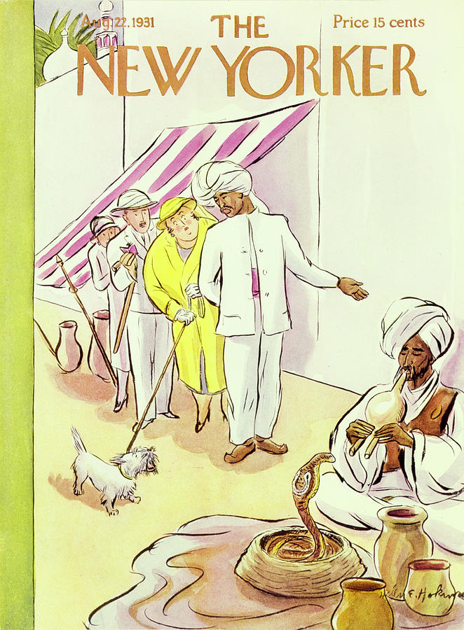New Yorker August 22 1931 Painting by Helene E Hokinson