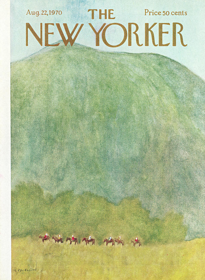 New Yorker August 22nd, 1970 Painting by James Stevenson
