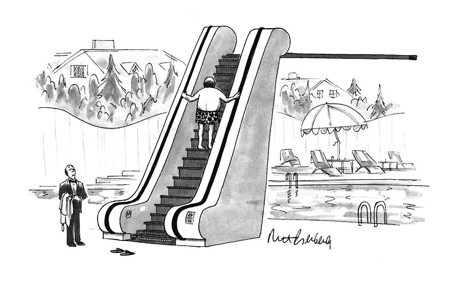New Yorker August 22nd, 1994 Drawing by Mort Gerberg