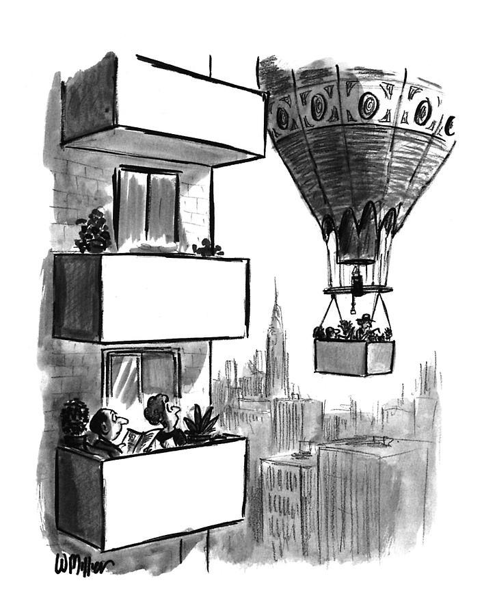 New Yorker August 23rd, 1993 Drawing by Warren Miller