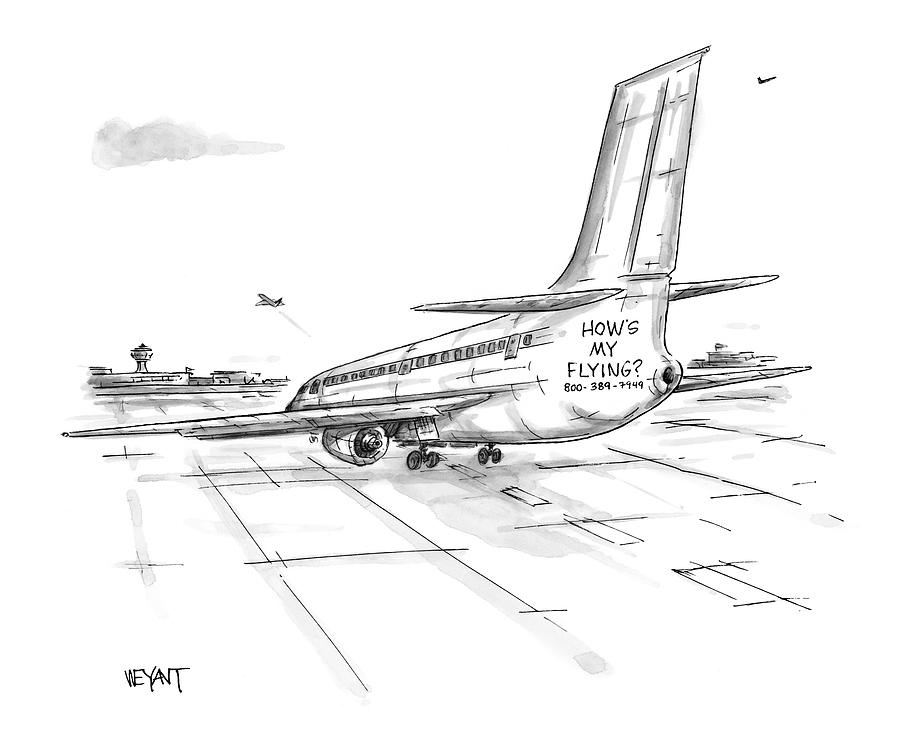 New Yorker August 23rd, 1999 Drawing by Christopher Weyant
